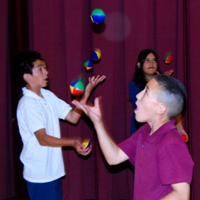 Teen Juggling Lesson